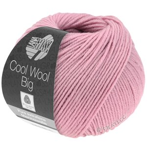 Lana Grossa COOL WOOL Big  Uni/Melange | 0963-Rosa