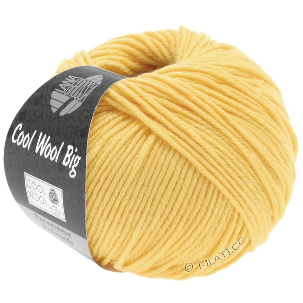 Lana Grossa COOL WOOL Big  Uni/Melange   0965-Hellgelb