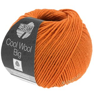 Lana Grossa COOL WOOL Big  Uni/Melange | 0970-Rotorange