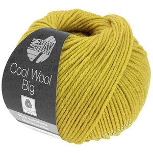 Lana Grossa COOL WOOL Big  Uni/Melange | 0973-Senf