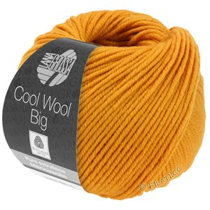Lana Grossa COOL WOOL Big  Uni/Melange | 0974-Gelborange