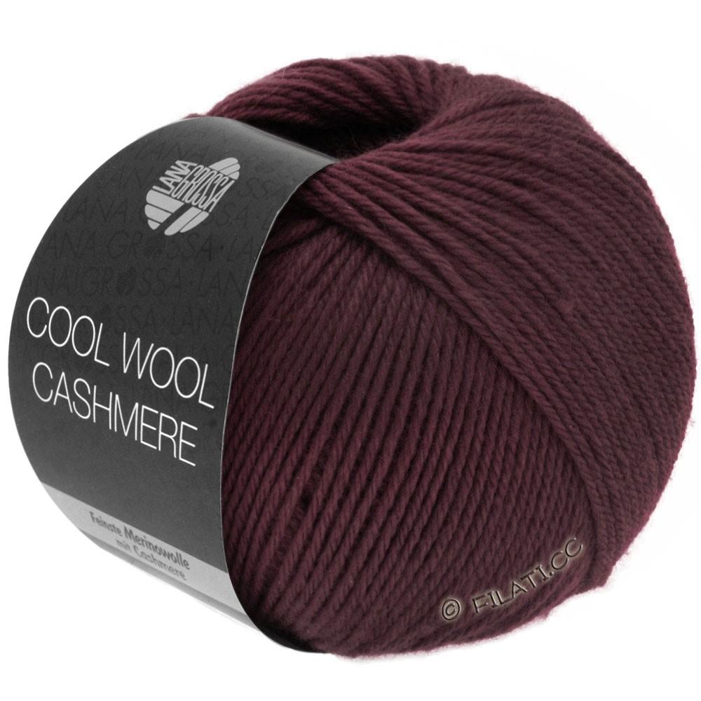 Lana Grossa COOL WOOL Cashmere   20-Burgund
