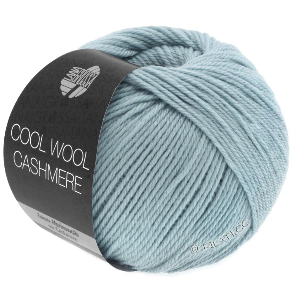 Lana Grossa COOL WOOL Cashmere   25-Graublau