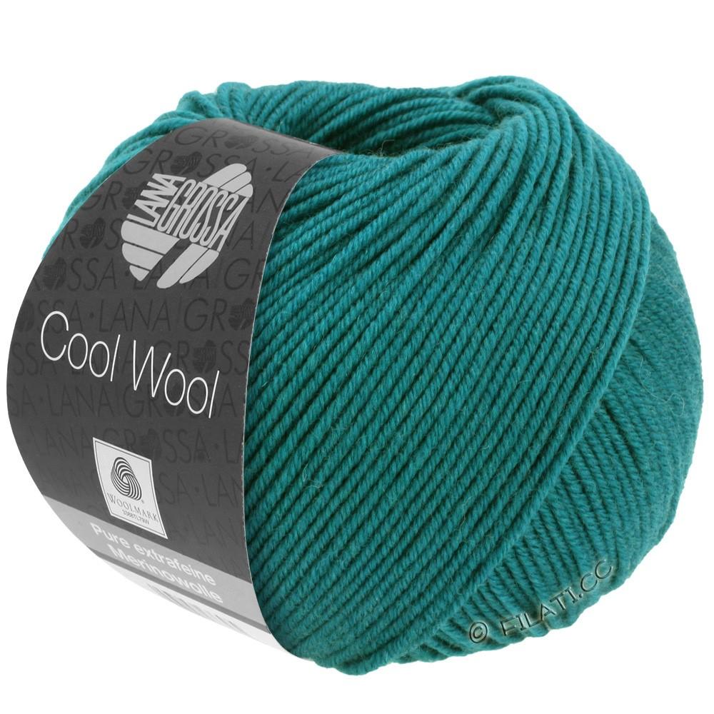 Lana Grossa COOL WOOL   Uni/Melange/Neon | 2015-Petrolgrün