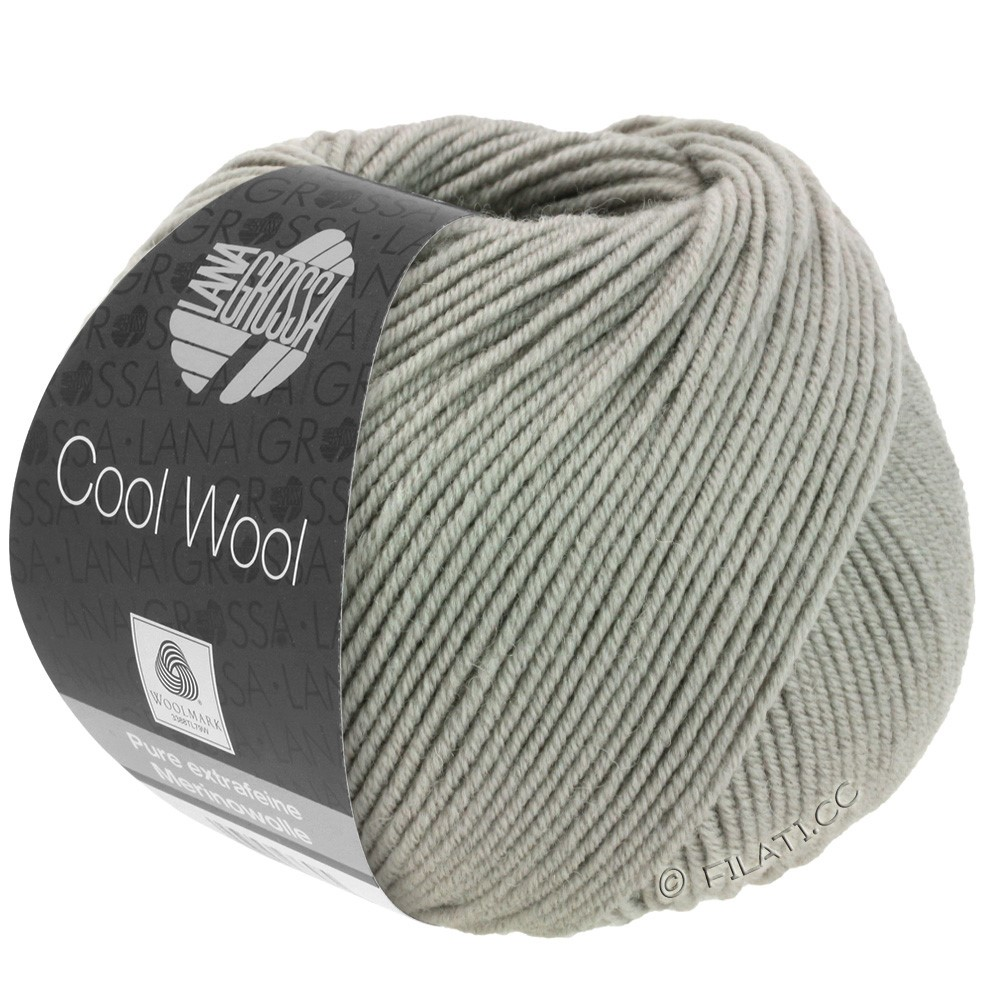 Lana Grossa COOL WOOL   Uni/Melange/Neon | 2027-Grège