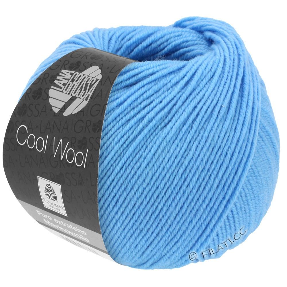 Lana Grossa COOL WOOL   Uni/Melange/Neon | 2031-Himmelblau