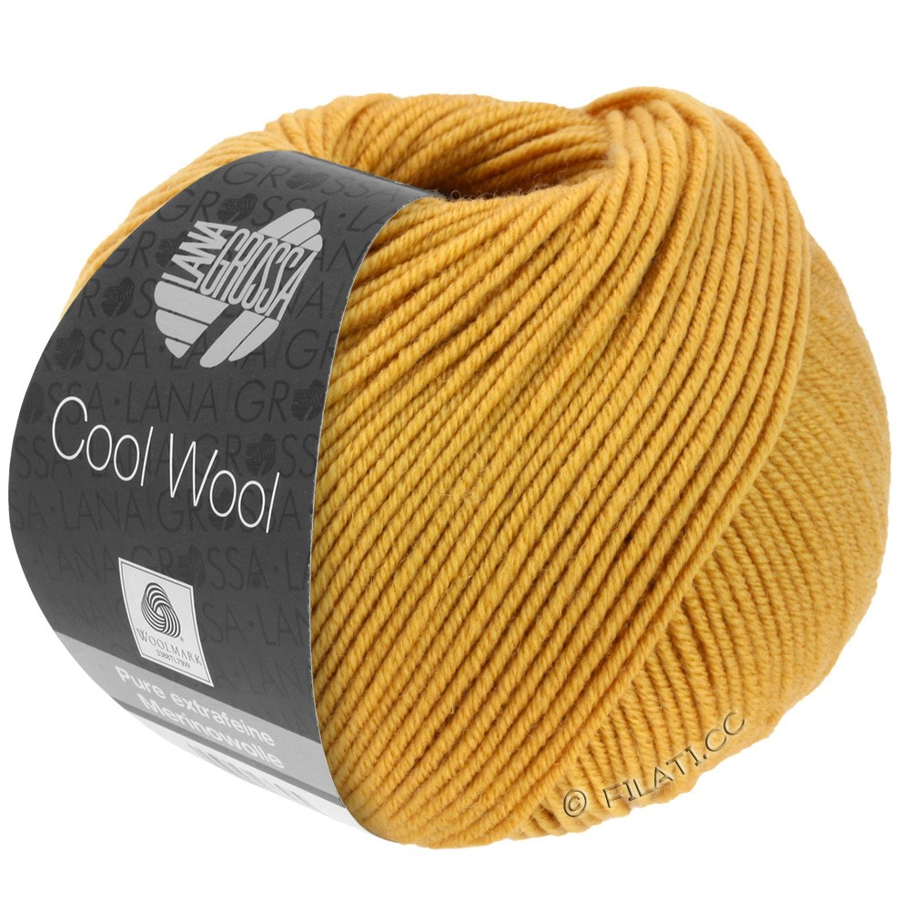 Lana Grossa COOL WOOL   Uni/Melange/Neon | 2035-Honiggelb
