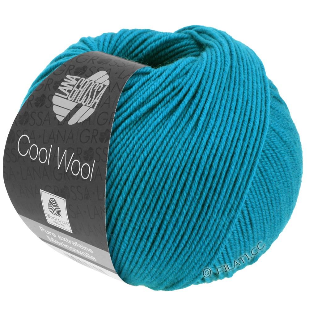 Lana Grossa COOL WOOL   Uni/Melange/Neon | 2036-Azurblau