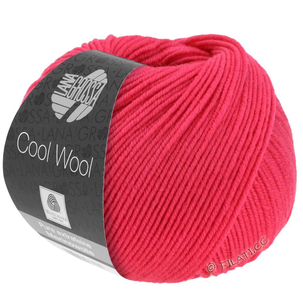 Lana Grossa COOL WOOL   Uni/Melange/Neon | 2043-Himbeer