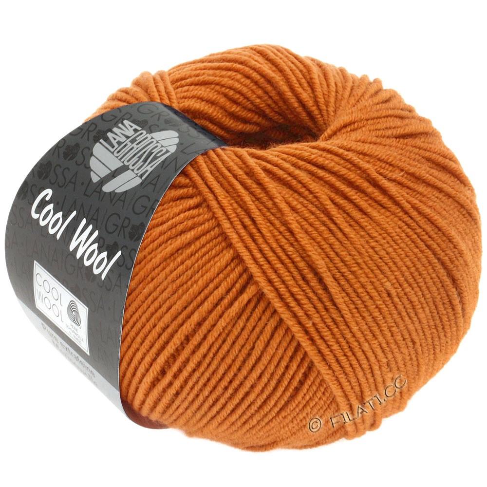 Lana Grossa COOL WOOL   Uni/Melange/Neon | 2053-Orangebraun