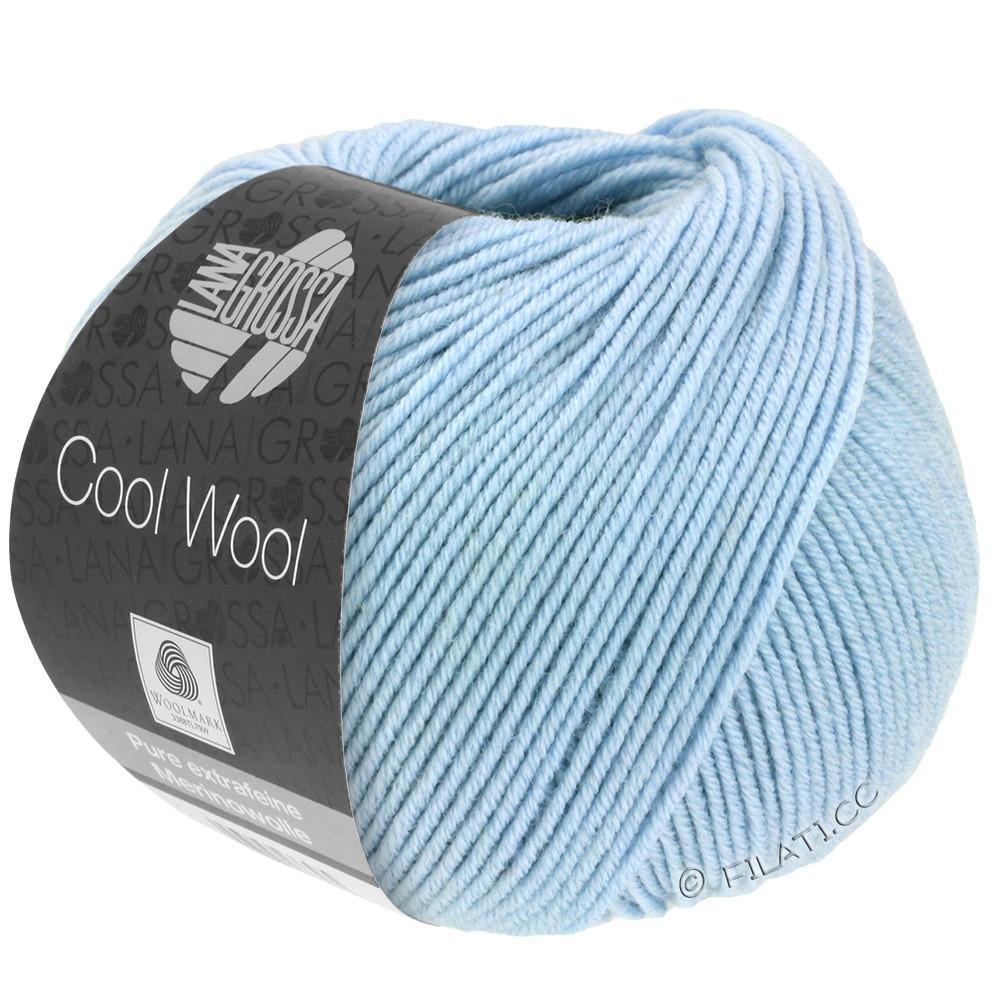Lana Grossa COOL WOOL   Uni/Melange/Neon | 0430-Hellblau