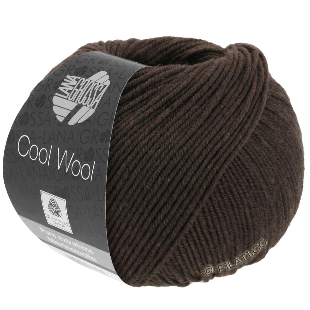 Lana Grossa COOL WOOL   Uni/Melange/Neon | 0436-Mokka