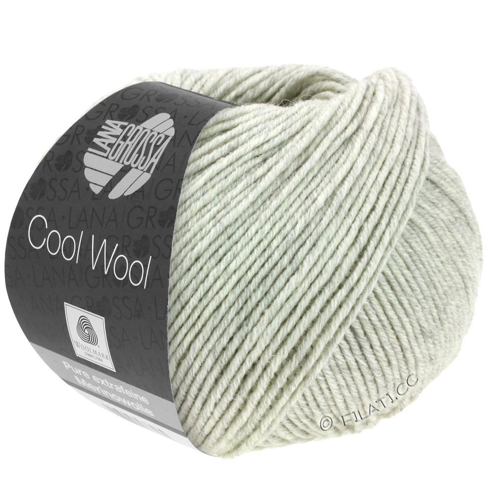 Lana Grossa COOL WOOL   Uni/Melange/Neon | 0443-Hellgrau meliert