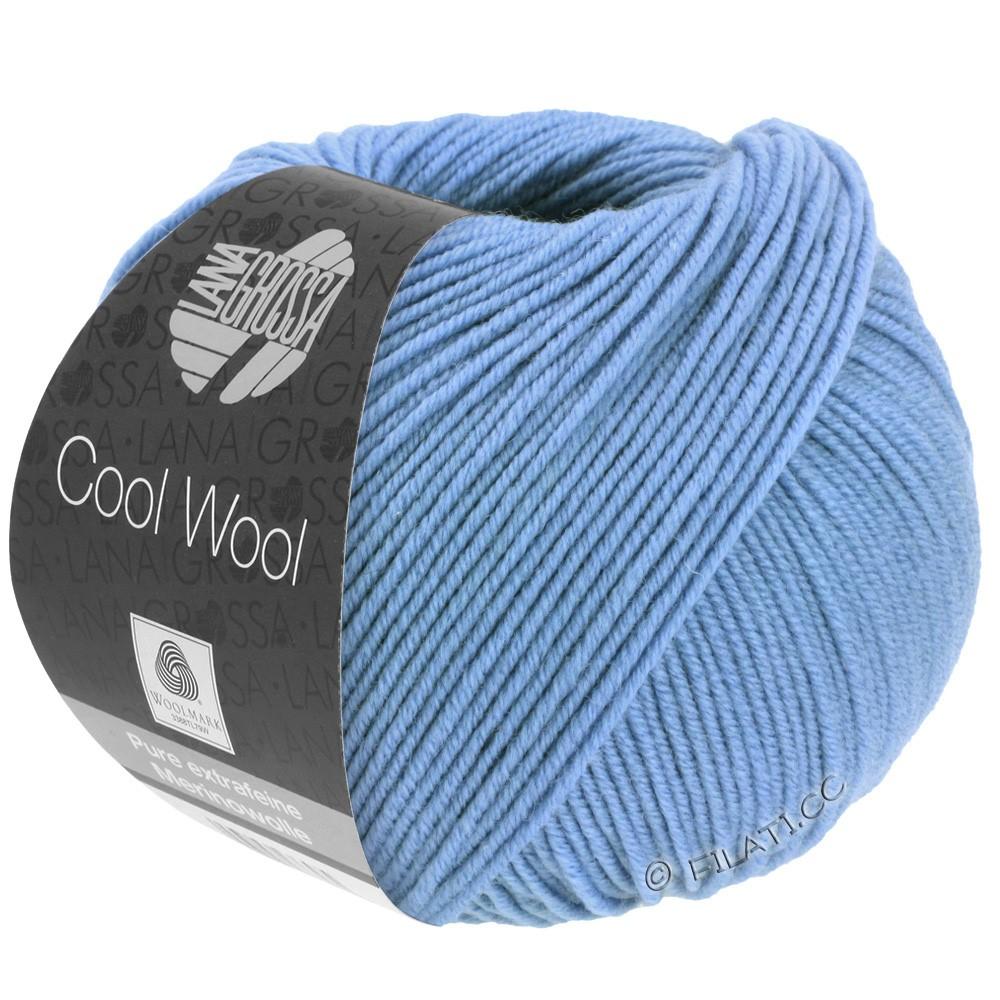 Lana Grossa COOL WOOL   Uni/Melange/Neon | 0463-Kornblume