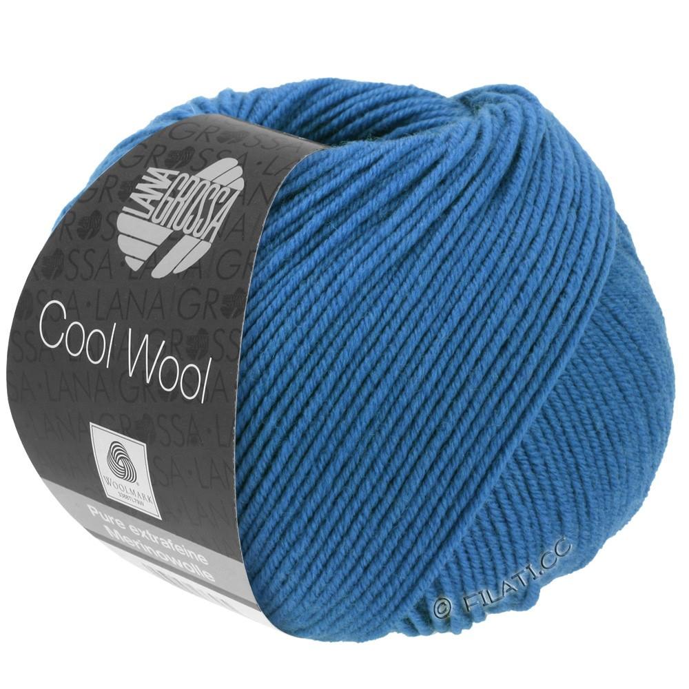 Lana Grossa COOL WOOL   Uni/Melange/Neon | 0555-Kobaltblau