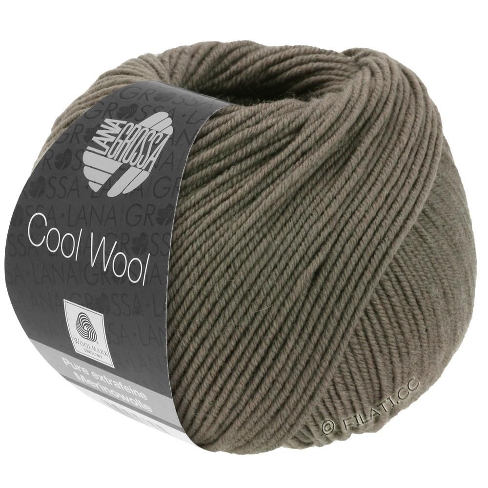 Lana Grossa COOL WOOL   Uni/Melange/Neon | 0558-Graubraun
