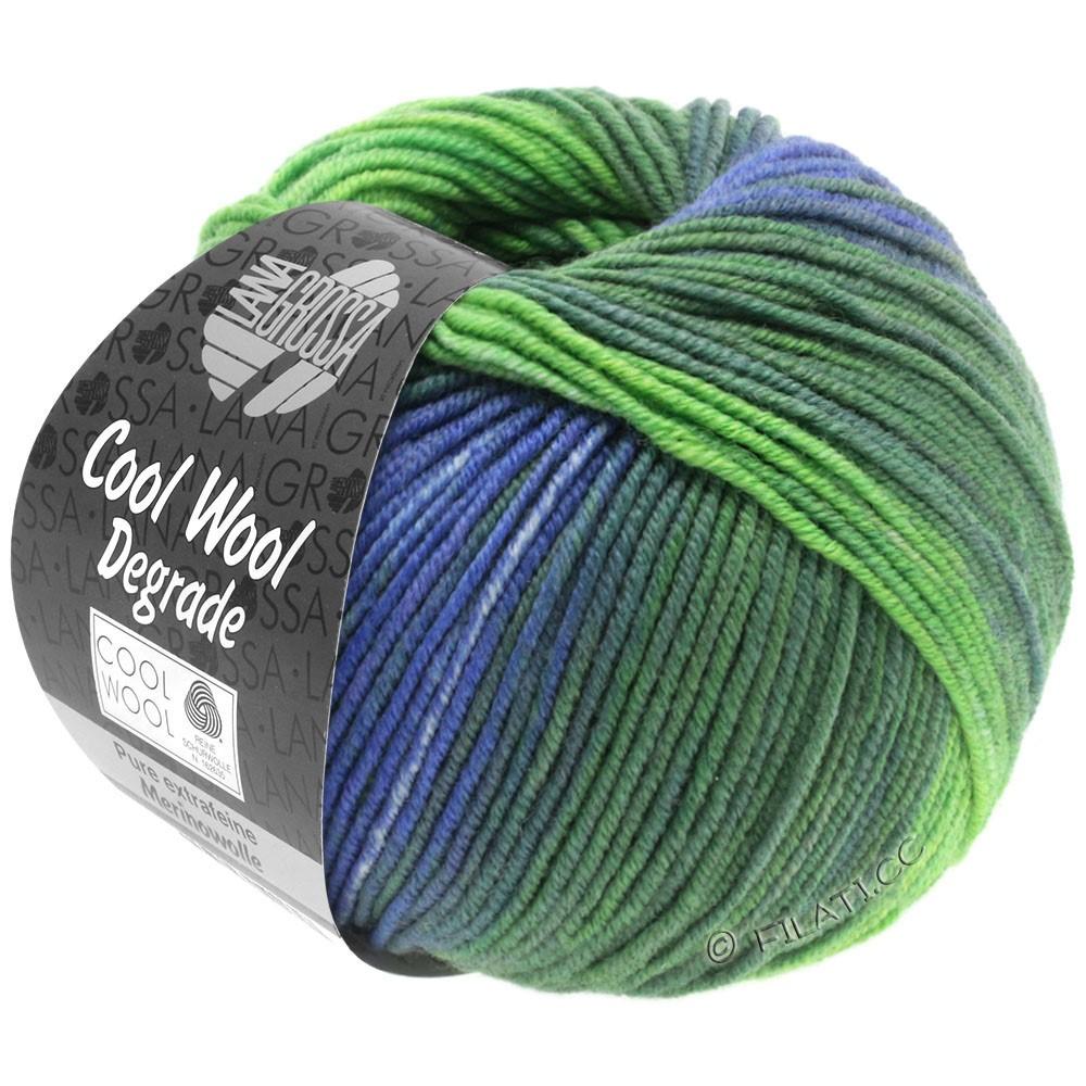 Lana Grossa COOL WOOL  Degradé | 6005-Grauviolett/Graugrün/Heugrün/Gelbgrün/Lavendel