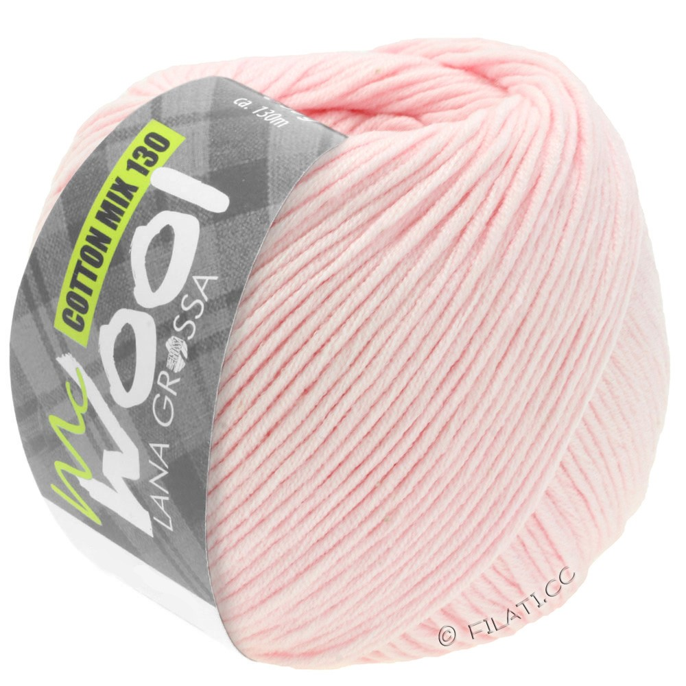 Lana Grossa COTTON MIX 130 (McWool) | 131-Rosa