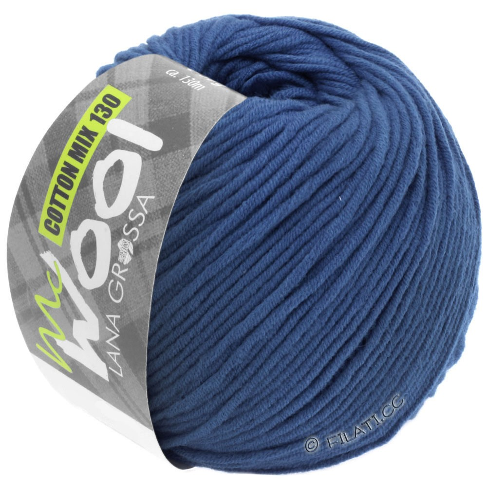 Lana Grossa COTTON MIX 130 (McWool) | 138-Royal