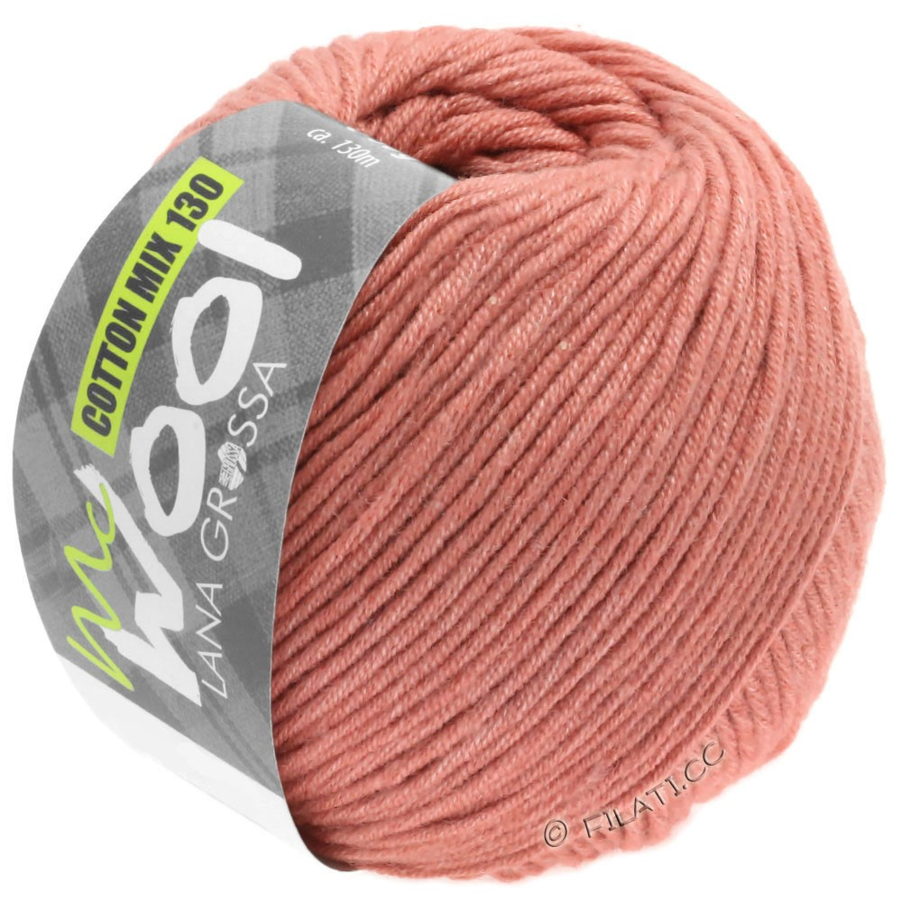 Lana Grossa COTTON MIX 130 (McWool) | 141-Kupferrot