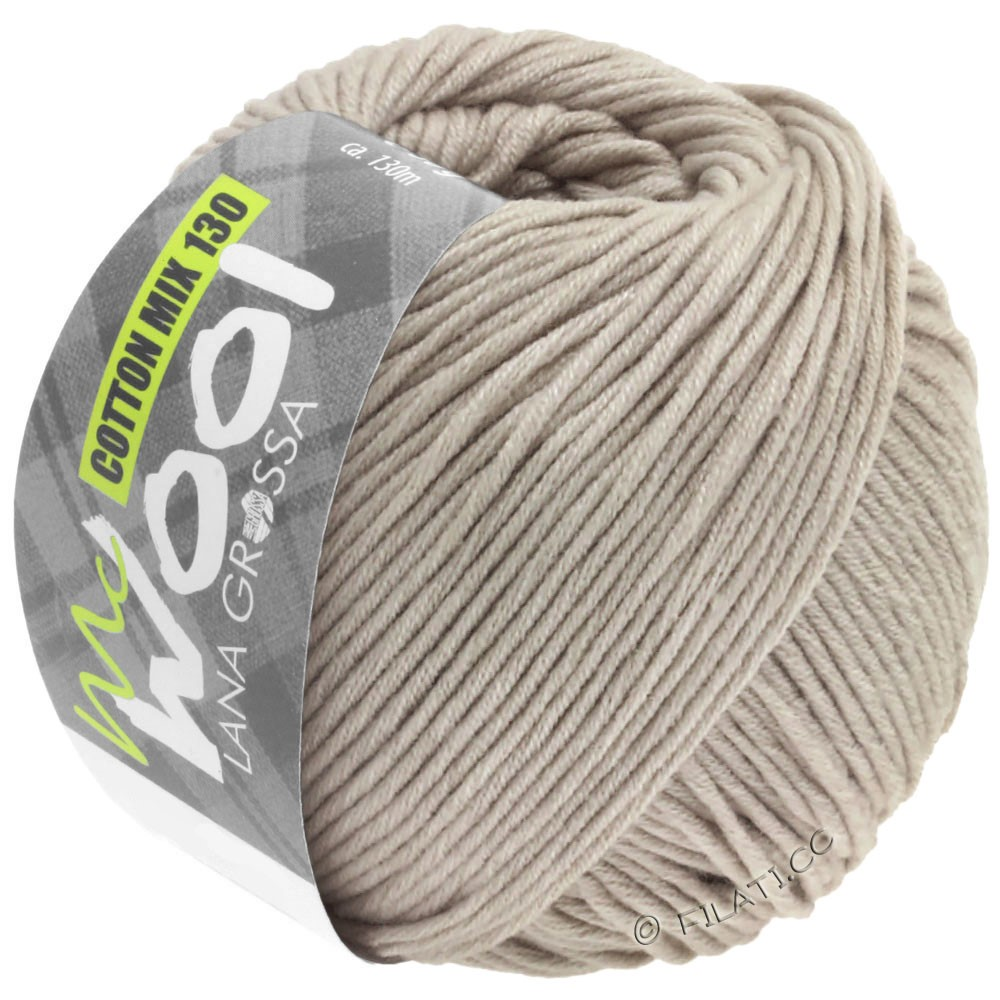 Lana Grossa COTTON MIX 130 (McWool) | 153-Beige