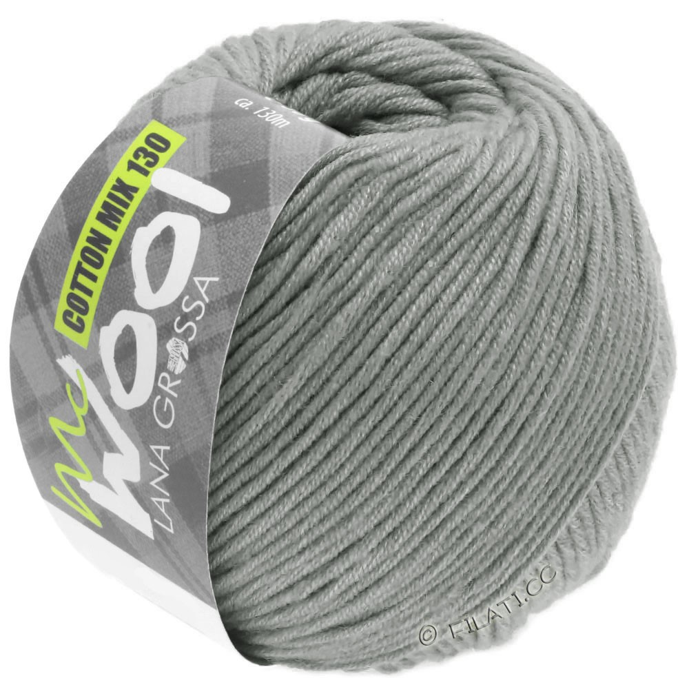 Lana Grossa COTTON MIX 130 (McWool) | 154-Grau