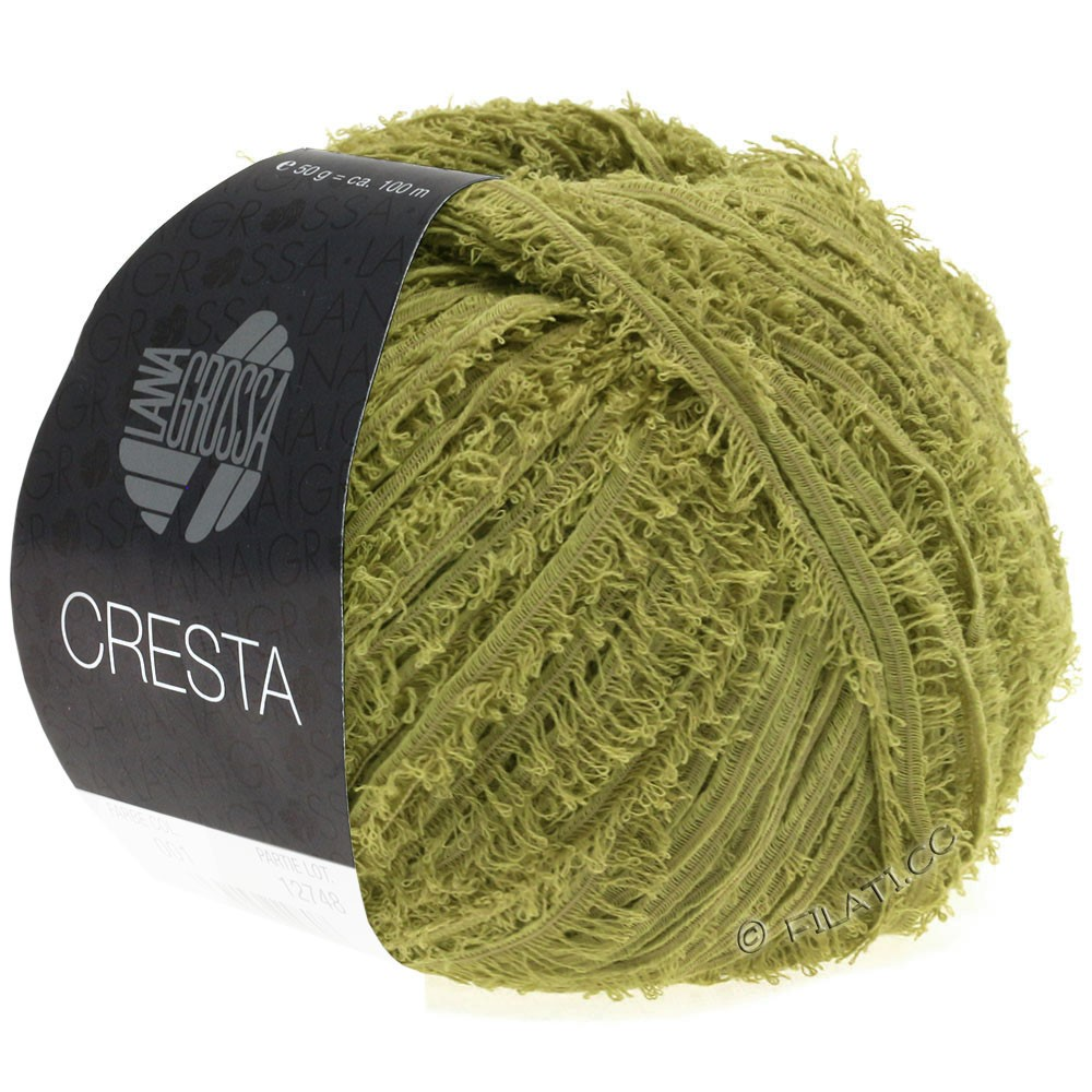 Lana Grossa CRESTA | 10-Oliv