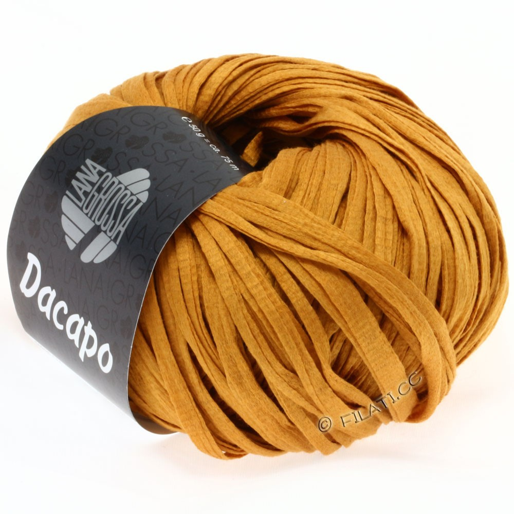 Lana Grossa DACAPO  Uni | 008-Ockergelb