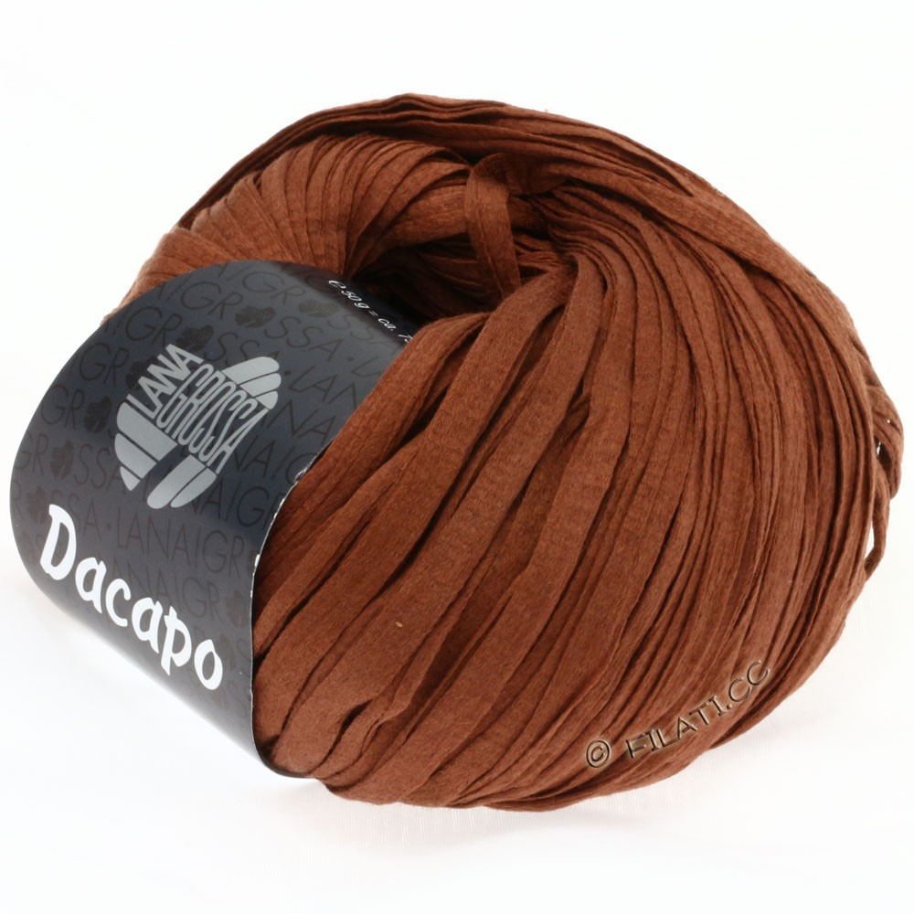 Lana Grossa DACAPO  Uni | 009-Zimtbraun