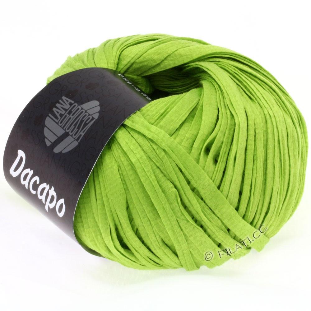 Lana Grossa DACAPO  Uni | 015-Gelbgrün