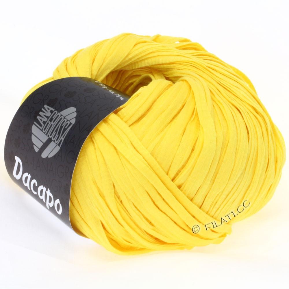 Lana Grossa DACAPO  Uni | 017-Gelb