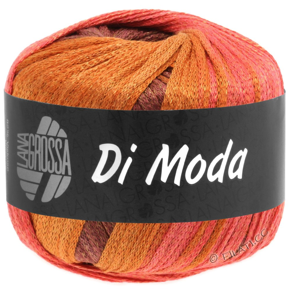 Lana Grossa DI MODA | 16-Zimt/Rot/Orangebraun/Ziegelrot