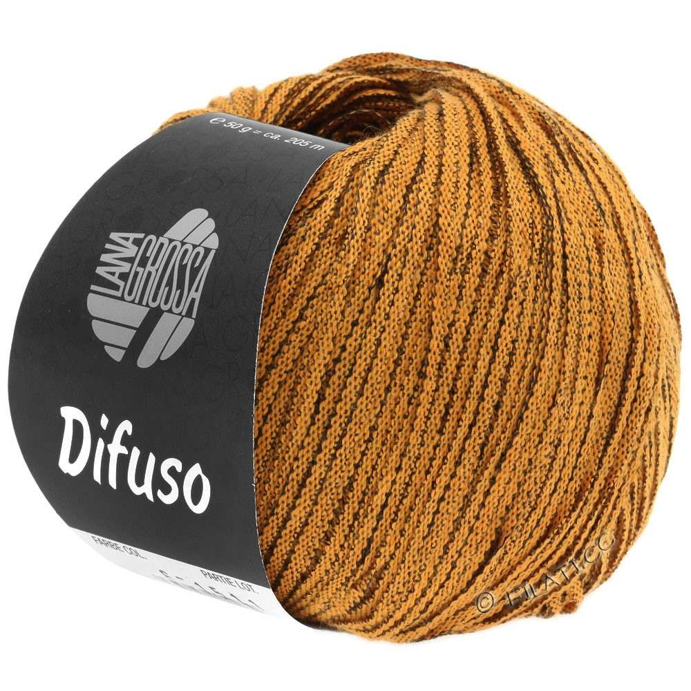 Lana Grossa DIFUSO | 02-Orange/Schwarz