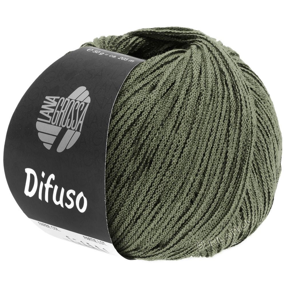 Lana Grossa DIFUSO | 11-Graugrün/Schwarz