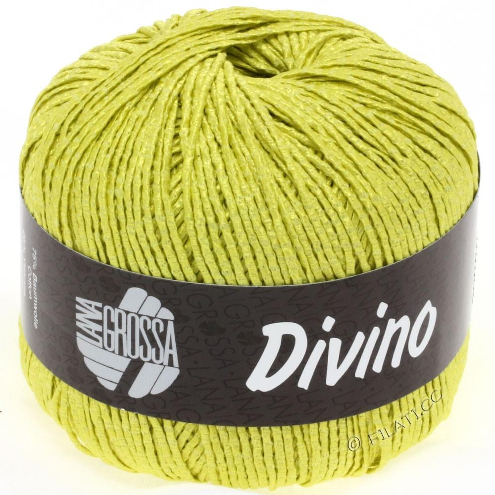 Lana Grossa DIVINO Uni | 21-Gelbgrün