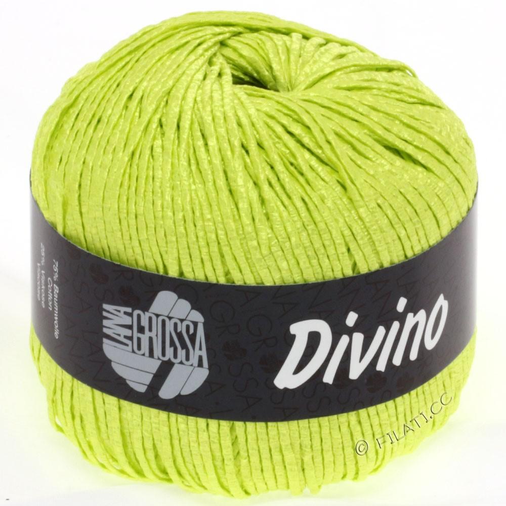 Lana Grossa DIVINO Uni | 38-Gelbgrün