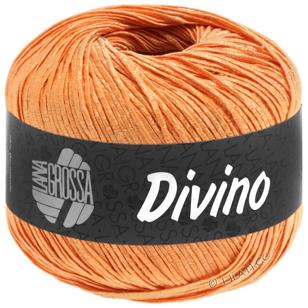 Lana Grossa DIVINO Uni | 58-Orangegelb