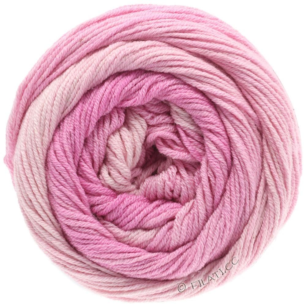 Lana Grossa ELASTICO Degradé   701-Zartrosa/Rosa/Pink