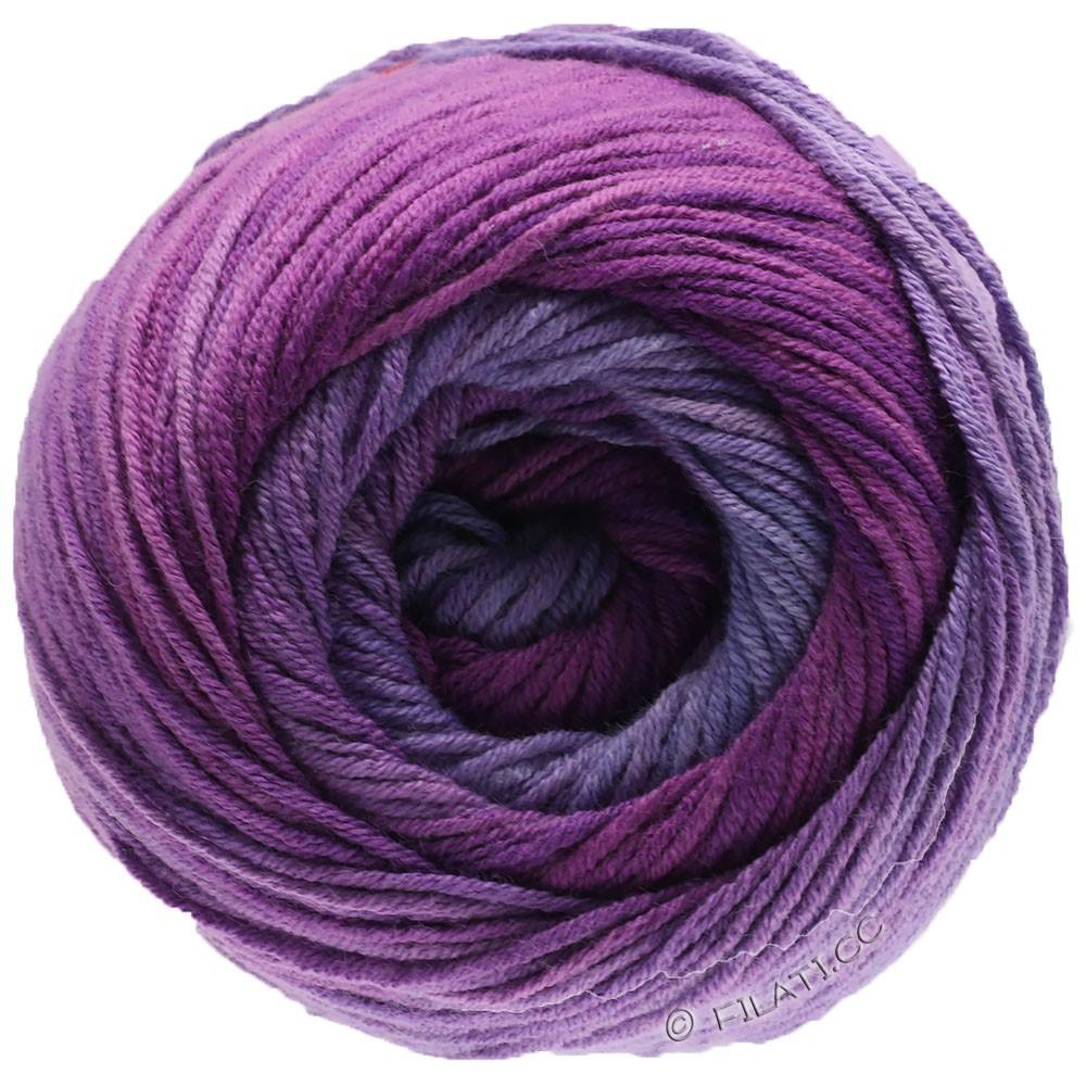 Lana Grossa ELASTICO Degradé   711-Lavendel/Flieder/Rotviolett