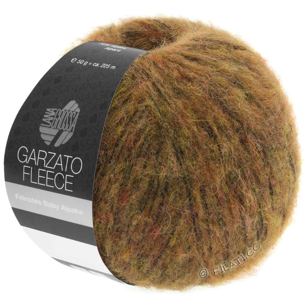 Lana Grossa GARZATO Fleece Uni/Print/Degradé   031-Hellbraun/Ocker/Schwarz