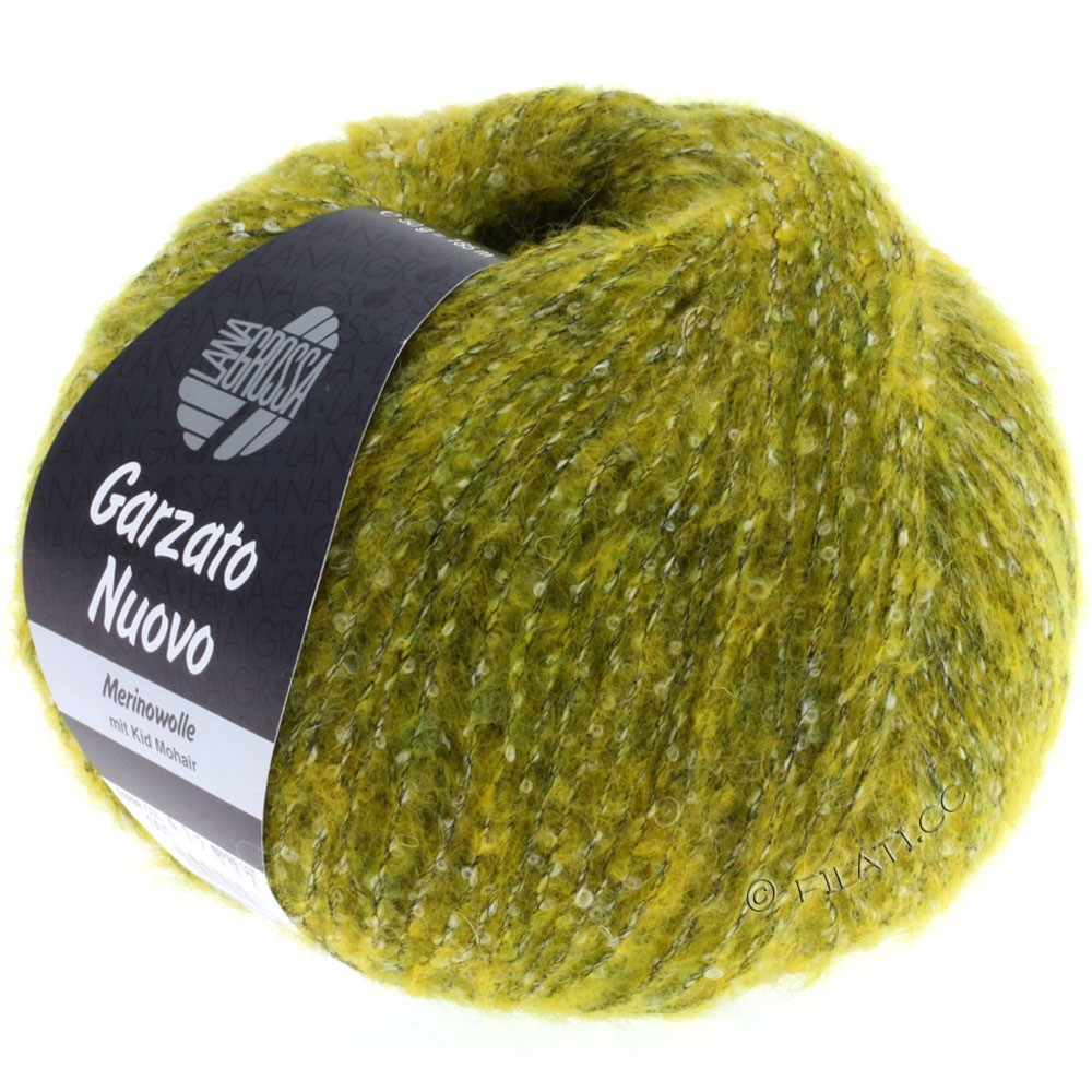 Lana Grossa GARZATO Nuovo | 001-Gelb/Rohweiß/Schwarz