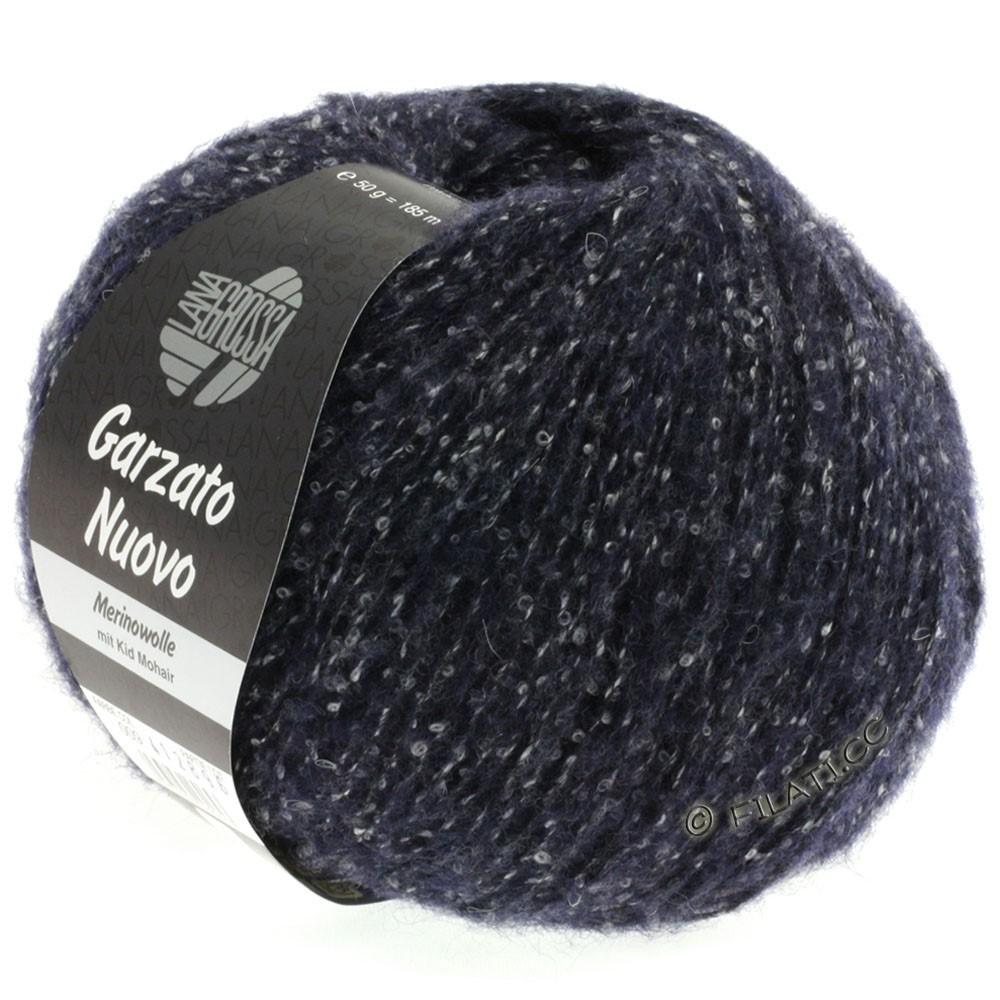 Lana Grossa GARZATO Nuovo | 009-Nachtblau/Rohweiß/Schwarz