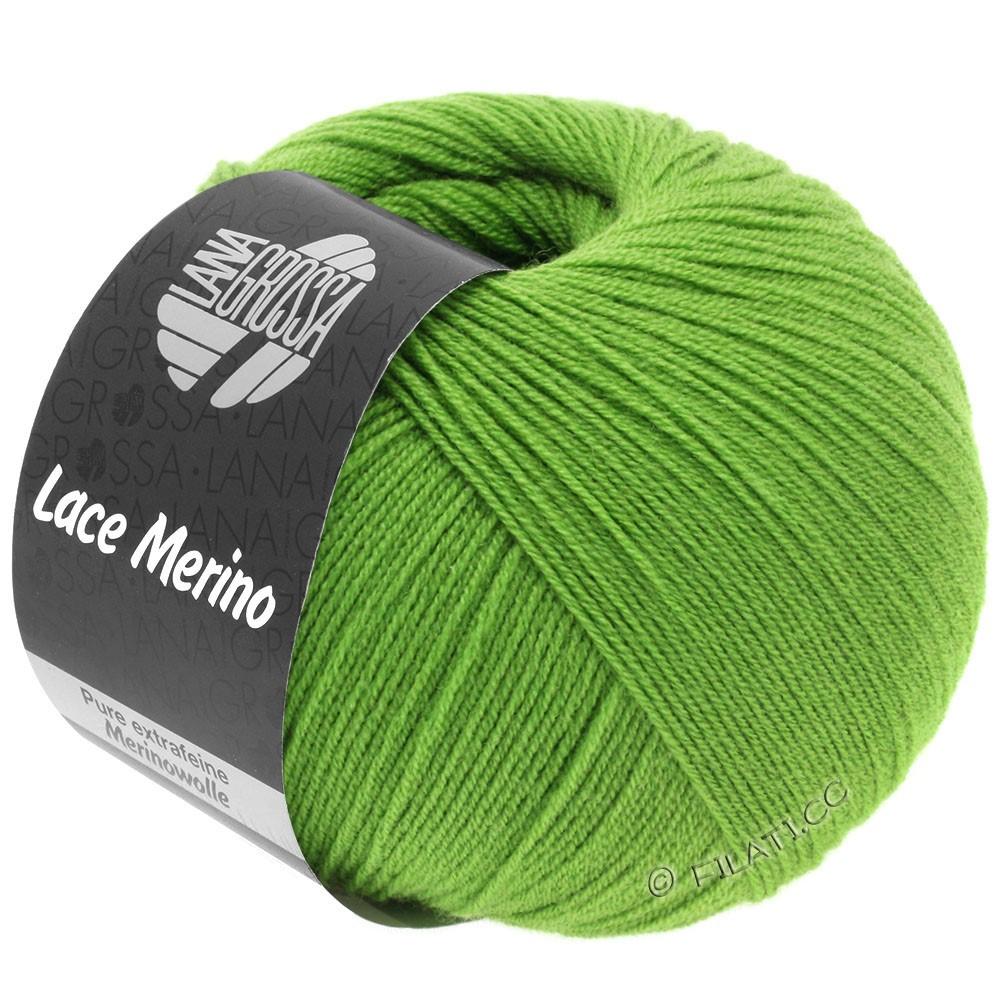 Lana Grossa LACE Merino  Uni   60-Leuchtendgrün