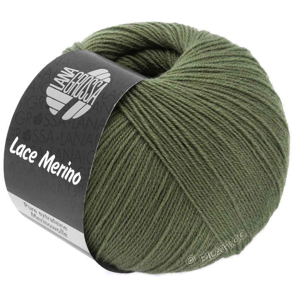 Lana Grossa LACE Merino  Uni   62-Khaki