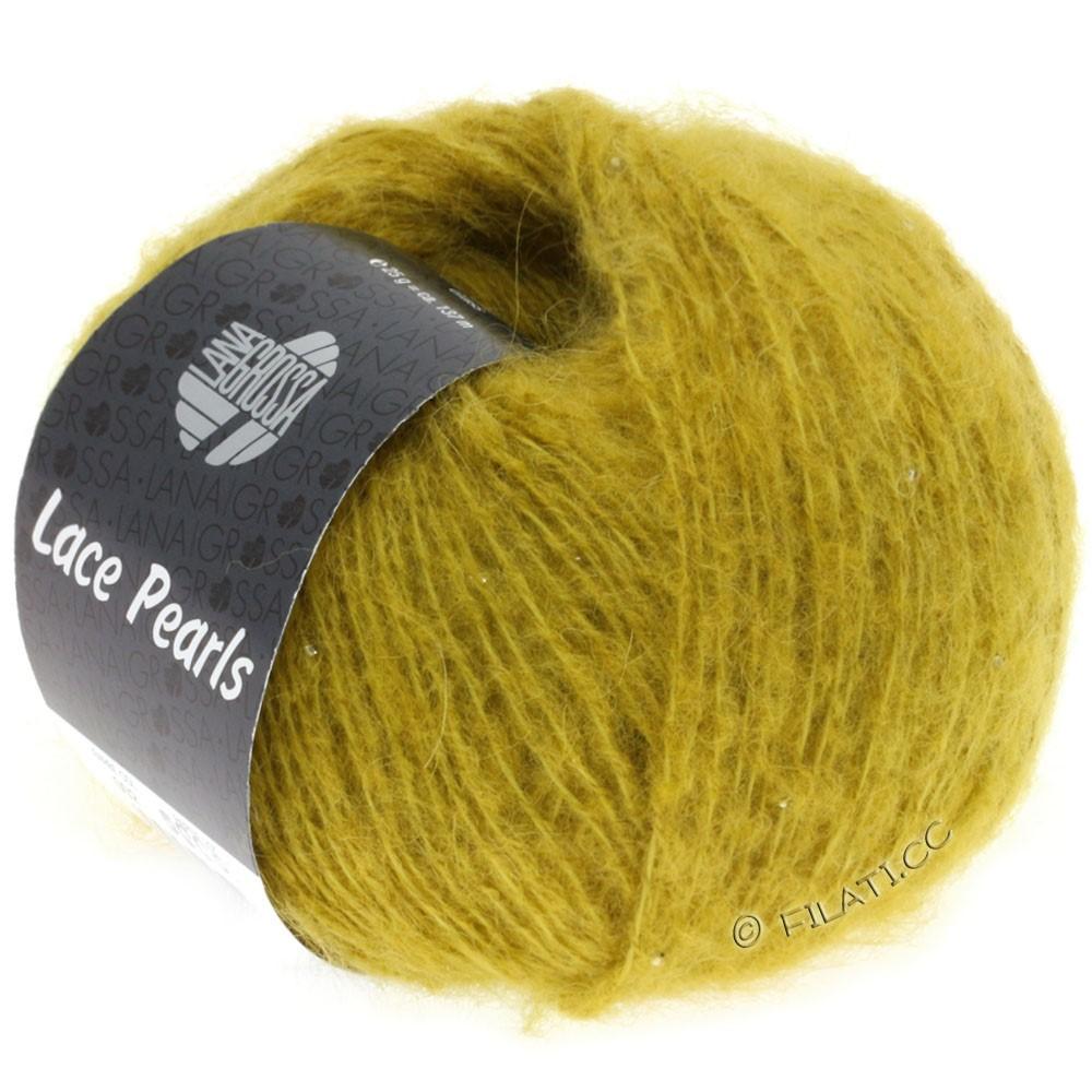 Lana Grossa LACE Pearls Uni/Degradè | 002-Senf