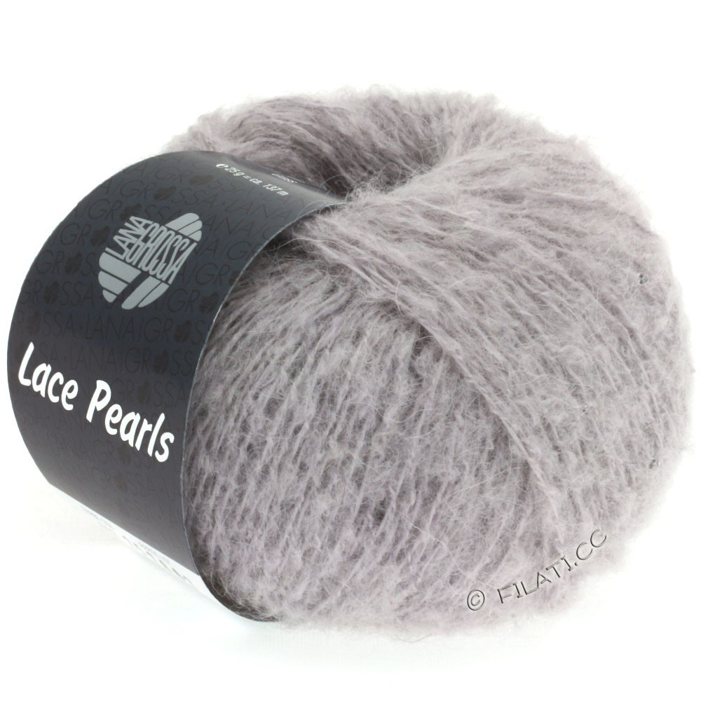 Lana Grossa LACE Pearls Uni/Degradè | 012-Mauve