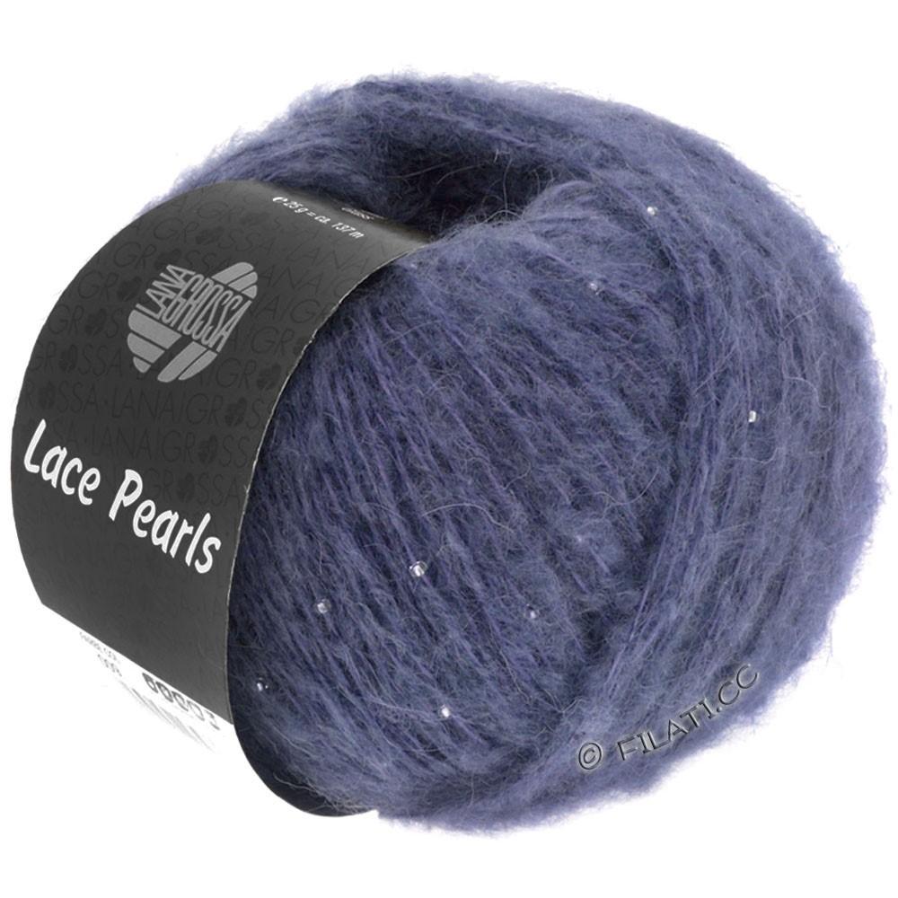 Lana Grossa LACE Pearls Uni/Degradè | 016-Blauviolett