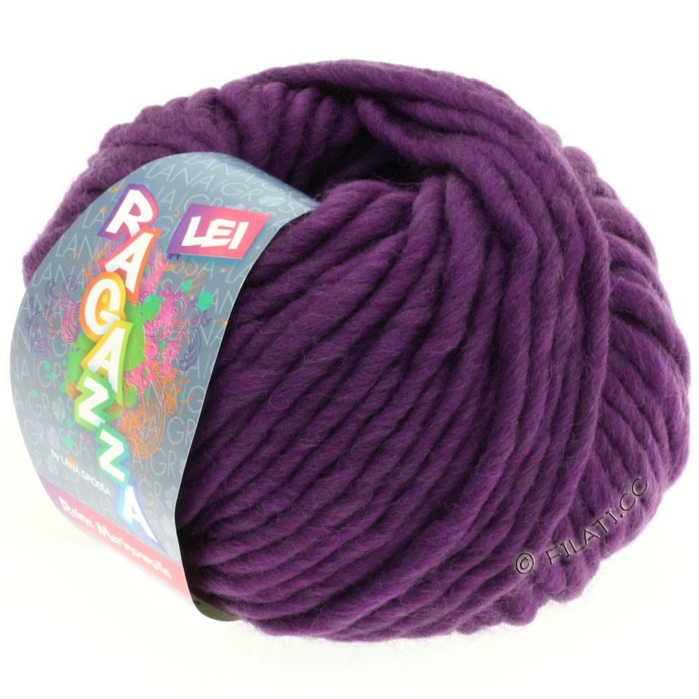 Lana Grossa LEI  Uni/Neon (Ragazza) | 008-Violett