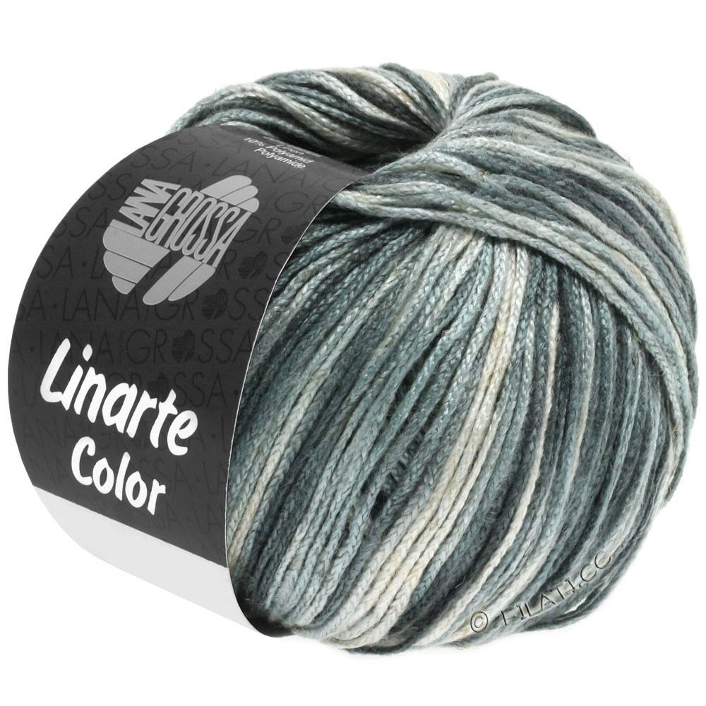 Lana Grossa LINARTE Color | 105-Silbergrau/Platingrau/Granitgrau