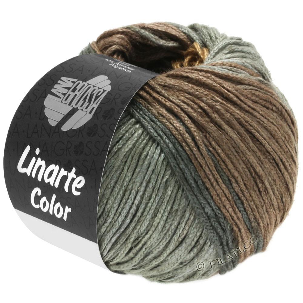 Lana Grossa LINARTE Color | 202-Beige/Graubraun/Graugrün/Graphit